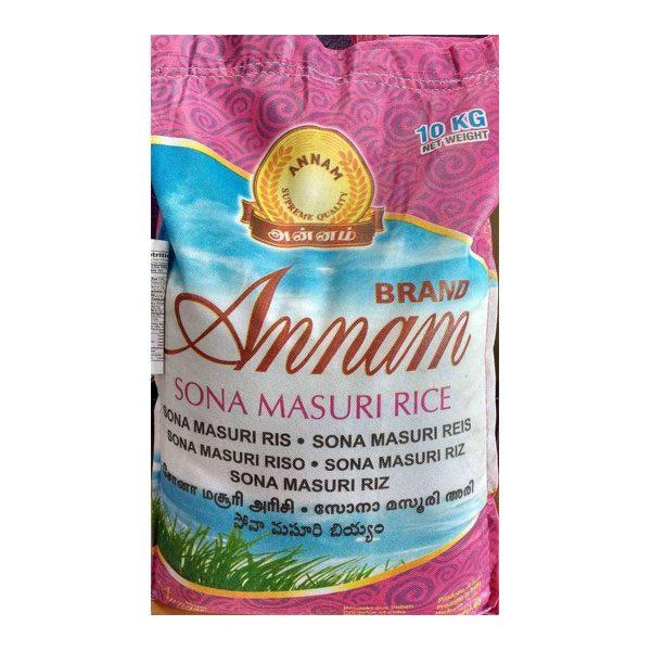 Mantrafood Annam Brown Sona Masuri Rice 10Kg