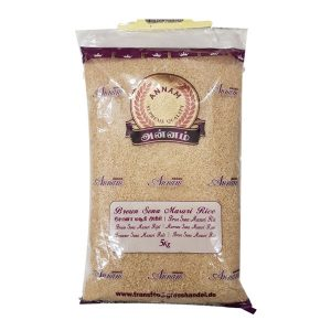 Mantrafood Annam Brown Sona Masuri Rice 5Kg