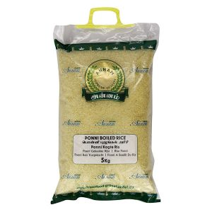 Mantrafood Annam Ponni Boiled Rice 5Kg