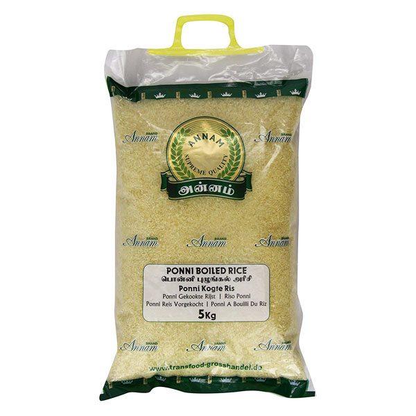 Mantrafood Annam Ponni Boiled Rice 5Kg