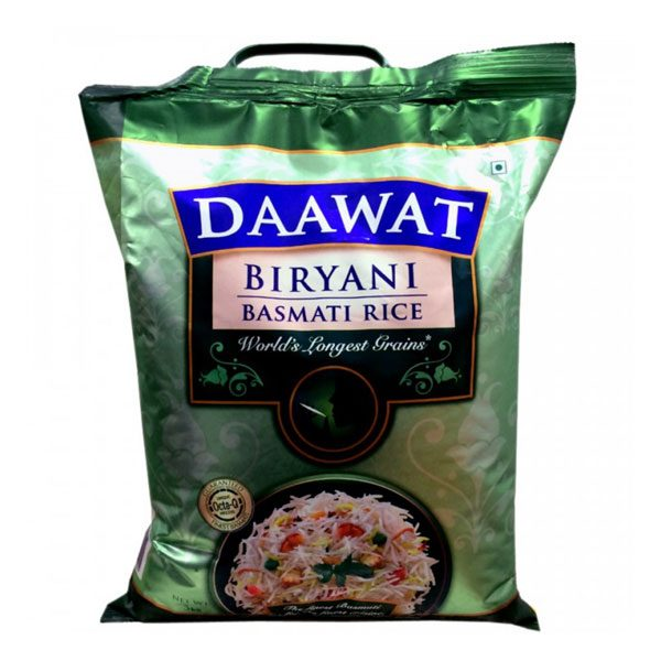 Mantrafood Daawat Basmati Rice 5Kg