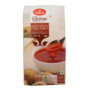 Mantrafood Haldirams Khatti Meethi Chutney 350gm 5 cups