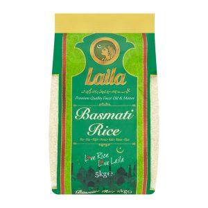 Mantrafood Laila Basmati Rice 5Kg