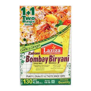 Mantrafood Laziza Zafrani Bombay Biryani Masala 130gm