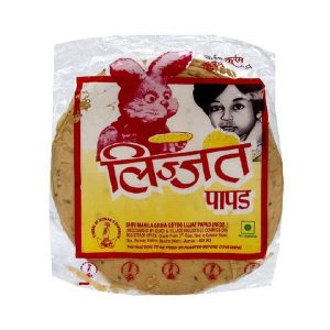 Mantrafood Lijjat Cumin Seeds Papad 200gm