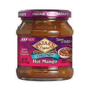 Mantrafood Pataks Hot Mango Chutney 340gm