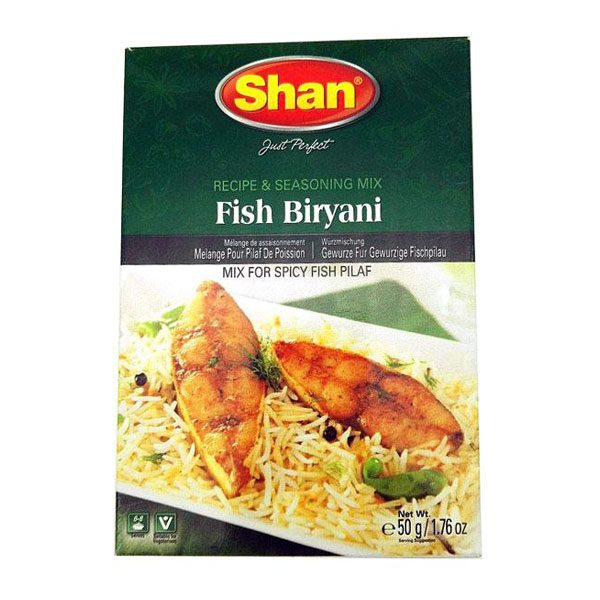 Mantrafood Shan Fish Biryani 50gm