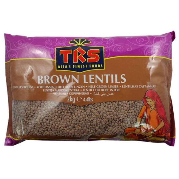 Mantrafood TRS Brown Lentils 2Kg