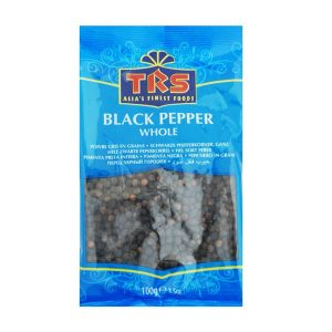 Mantrafood TRS Whole Black Pepper 100gm